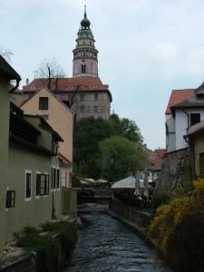 Krumlov Stadt