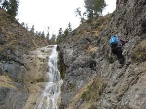 Klettersteig Hausbachfall : Klettersteig am hausbachfall « sabines