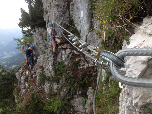 Klettersteig Jenner : Klettersteigschuetzensteig « sabines
